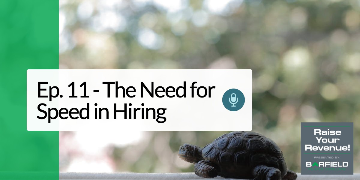 need for speed in hiring image of a turtle with brc logo